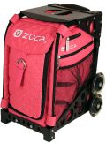 Zuca Hot Pink Rhinestones skate bag
