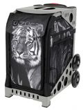 Zuca Tiger Skate bag with white frame